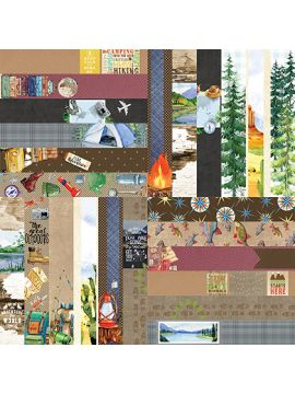 Great Outdoors Border Strips-Wonder Collection by Lauren Hinds