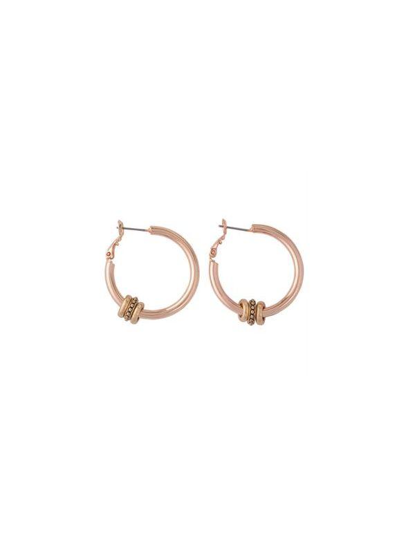 Ella Rose Gold Earrings