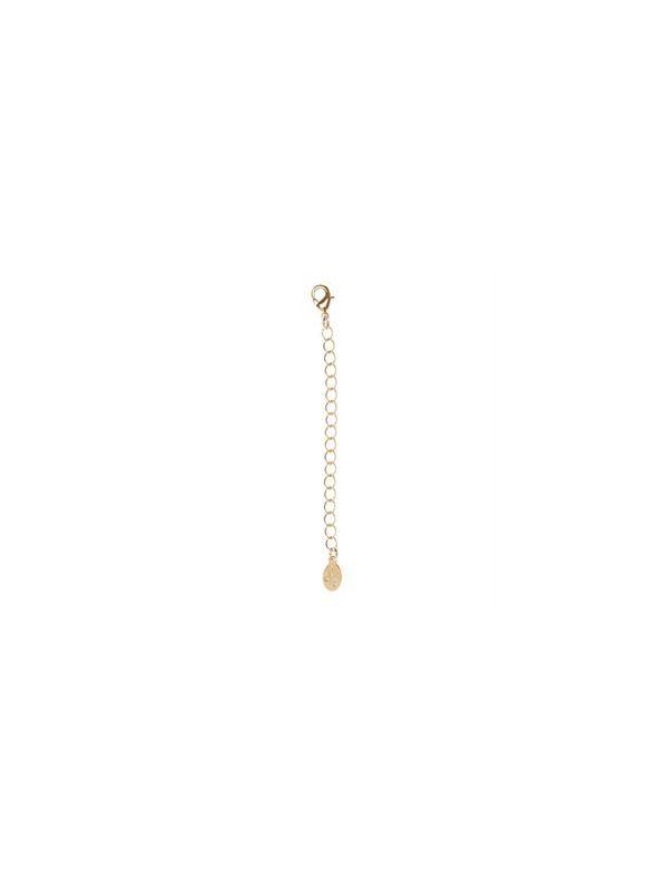 "VersaStyle® Gold Necklace Extender - 3"""