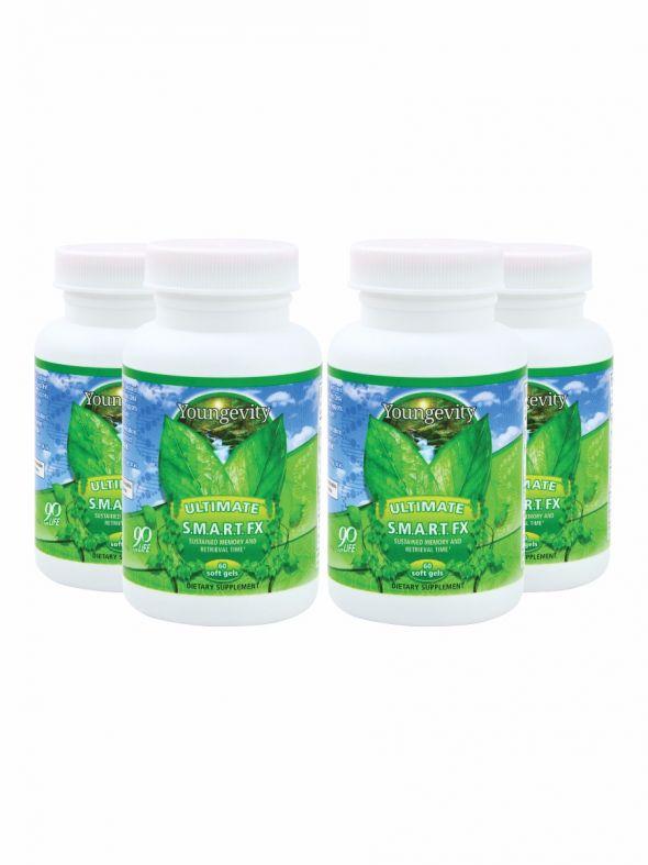 S.M.A.R.T. Fx™ - 60 soft gels (4 Pack)