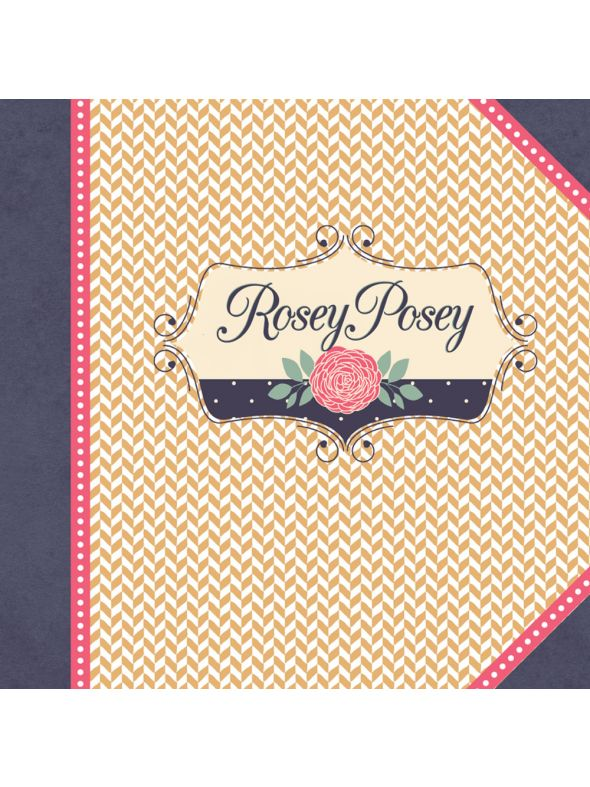 August Rosey Posey Paper Collection Kit